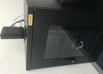 通信機器収容BOX