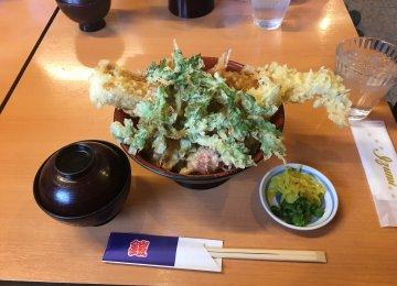 岡山 天丼!!