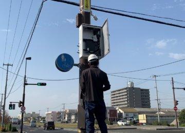 岡山市南区防犯カメラ  定期メンテナンス