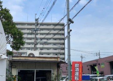 防犯カメラ工事 in 福岡
