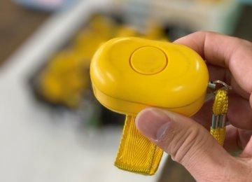 防犯ブザーの修理及び電池交換