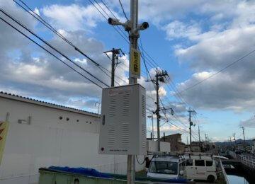 防犯カメラ設置 in 岡山市