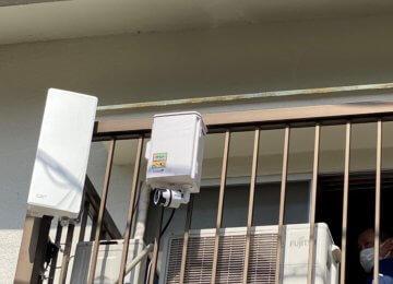 防災ライブカメラ設置in安芸区
