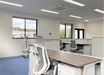 新築オフィス家具販売設置in広島