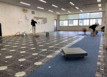 OAフロアリニューアル工事in広島