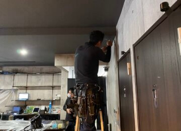 防犯カメラ設置 in 岡山